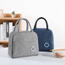 1PCs New Fresh Waterproof Nylon Portable Zipper Thermal Oxford Lunch Bags - $31.49+