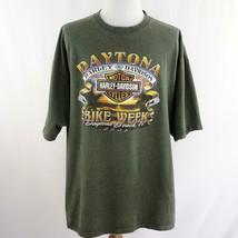 Harley Davidson 2005 Biketoberfest Daytona Beach Graphic T Shirt Mens Sz... - $28.93