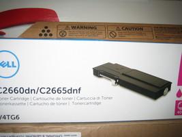 ( OPEN BOX) Dell V4TG6 Toner Cartridge C2660dn/C2665dnf Color Laser Printer - $69.25