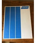 New in Box 100 Sheets of Norton Sandpaper Garnet A511 9x 11 Grit 220-A - $49.95