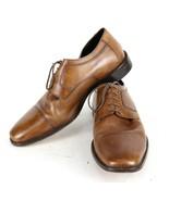 "Authentic Brown "" JOHNSTON & MURPHY "" Men's 12 W Oxford Cap Square Toe Shoes - $26.75"