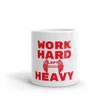 Work Hard Lift Heavy Gym Fitness Motivational Workout Inspiration Coffee... - $15.84+