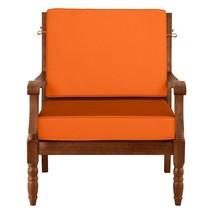 "26"" x 26"" Outdoor Deep Seat Cushion Set For Chair Sofa Orange Glow - $110.05"