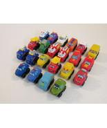 Tonka Hasbro Chuck & Friends Minis Lot of 22 Trucks Cars Aid Vehicles - $61.87
