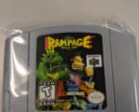 Rampage World Tour N64 Custom English Nintendo 64 - £30.90 GBP