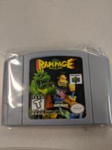 Rampage World Tour N64 Custom English Nintendo 64 - $33.00