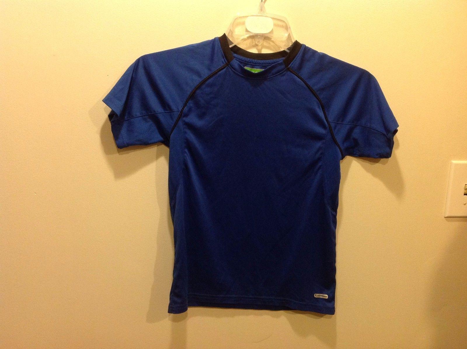TEK GEAR Royal Blue Young Kids Flex Sportswear T Shirt Sz M