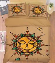 3D Sun Pattern 1 Bed Pillowcases Quilt Duvet Cover Set Single Queen King Size AU - $64.32+