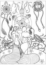 Coloring Sheets Dreamcatcher-Ten Sheets - $1.49