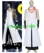 Bleach Kaname Tousen Arrancar Halloween Cosplay Costume  Pant  Gloves Ov... - $51.05