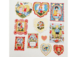 """SEI """"Think of Me"""" Die-Cut Accents, 29 Pieces, Scrapbooking, Cards, Journaling image 2"""
