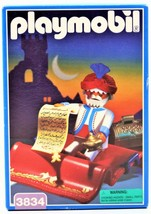 Playmobil 3834 Genie On The Magic Carpet 1996 Mint In Sealed Box Free Sh... - $29.69
