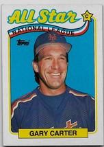 1989 Topps Baseball, #393, Gary Carter, New York Mets, All-Star, League Leaders - $0.99