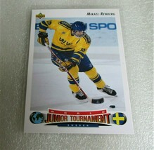 1992-93 Upper Deck Mikael Renberg World Junior Tournament Rookie Card! Rc Nm 233 - $1.95