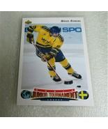 1992-93 UPPER DECK MIKAEL RENBERG WORLD JUNIOR TOURNAMENT ROOKIE CARD! R... - $1.95