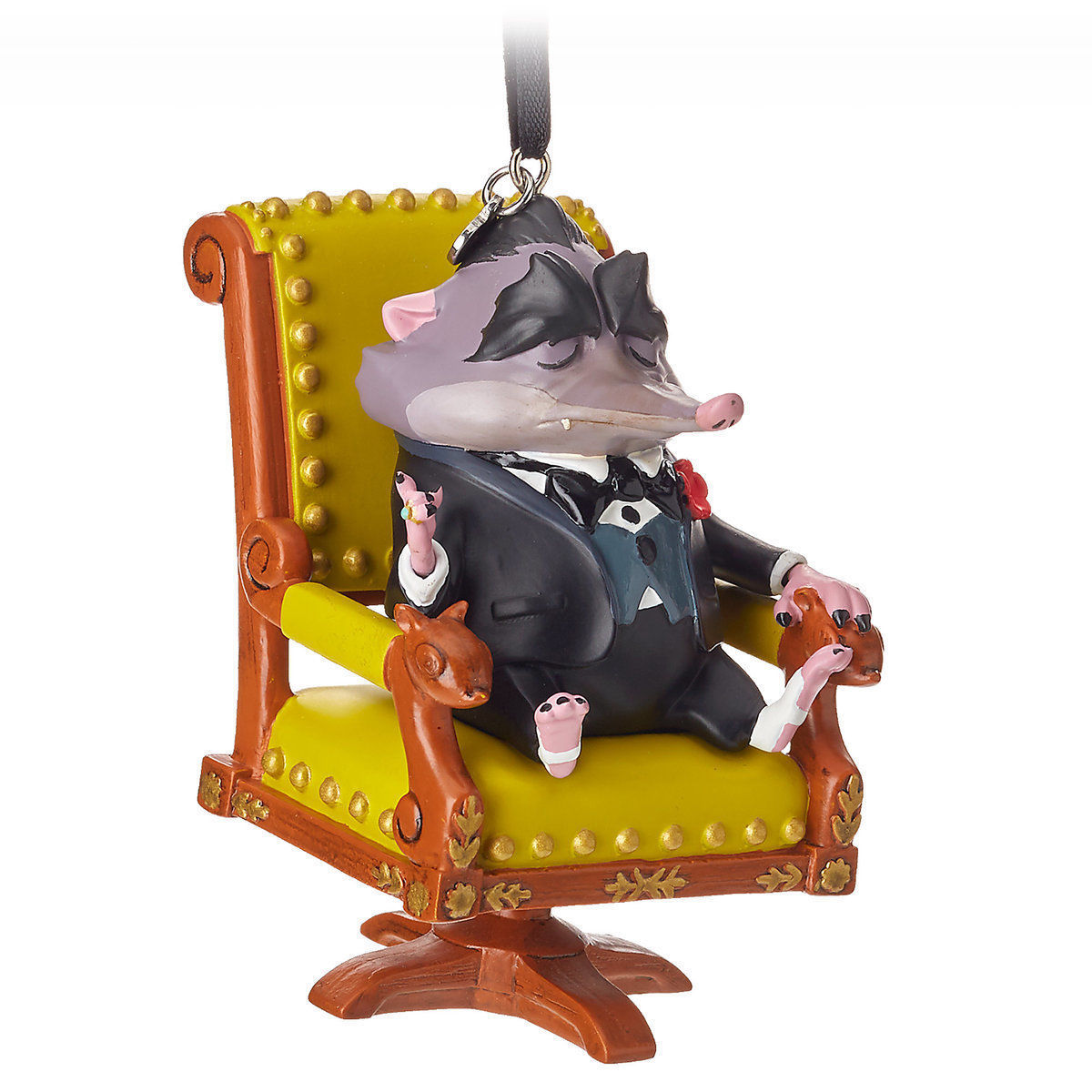 Disney 2018 Zootopia Mr. Big Sketchbook Christmas Ornament New with Tag