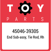 45046-39305 Toyota Tie Rod End, New Genuine OEM Part - $27.59