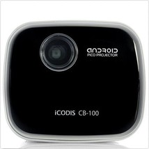 iCODIS CB-100 Jellybeam Android Pico OS DLP WiFi Bluetooth Portable Projector image 1