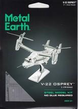 Fascinations Metal Earth V-22 Osprey Laser Cut 3D MMS212 - $11.95
