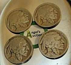 Buffalo Nickel 1920, 1925, 1928  and 1929 AA20BN-CN6098 image 7