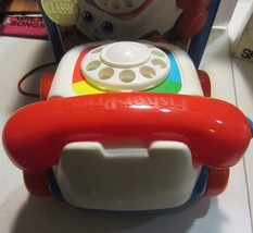 Fisher Price Classic Chatter Telephone Pull Toy with box - $26.55