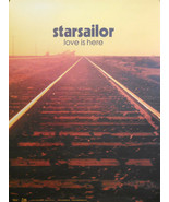 STAR SAILOR, LOVE IS HERE POSTER (F4) - $9.49