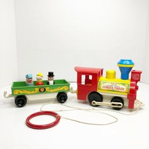 Vintage Fisher Price Little People Play Family Circus Train #991 - $49.49