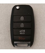 OEM keyless entry flip key fob remote. Door lock 4 button for Optima 201... - $40.81