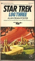 Star Trek Log One Paperback Book Alan Dean Foster 1975 Ballantine VERY G... - $3.99