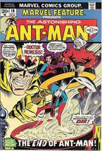 Marvel Feature Comic Book #10 Ant-Man Marvel Comics 1973 VERY FINE - $22.14