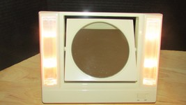 Vintage Avon Reflections of Beauty Lighted Vanity Make-Up Mirror 2 sided 1986 - $12.86