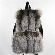 AuSable Brand Fur Traveler's Silver Fox Backpack - €353,15 EUR