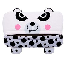 PANDA SUPERSTORE Cartoon Cute Car Accessories Automobile Visor Tissue Box Pumpin