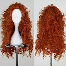Merida Cosplay Wig Long Curly Role Play Wig Halloween - $39.24