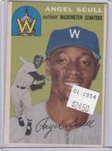 1954 Topps 204 Angel Scull Not Graded - $19.40
