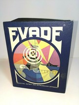 Vintage Evade Board Game By 3M 1971 Edition With Magnetic Disks Complete - $14.36