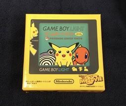 Game Boy Light Pokemon Limited Pikachu Yellow Nintendo Confirmed Operation - $1,261.18