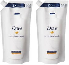 (Pack of 2) Dove Caring Hand Wash 2x Refill Pack 16.9 Fl Oz No Animal Testing - $24.74