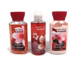 Bath & Body Works Japanese Cherry Blossom Shower Gel Fragrance Mist Body... - $28.70