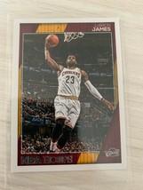 2016-17 Panini Hoops #17 LeBron James - $4.95