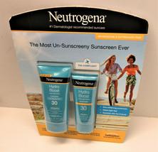 Neutrogena Hydro Boost Water Gel Lotion Sunscreen SPF 30 Combo 5 & 3 fl ... - $24.74