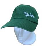Notre Dame Hat Fighting Irish Cap Adidas Green Women's Strapback One Size - $12.86