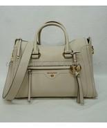 Michael Kors 30S0GCCS2L Carine Medium Leather Satchel/Shoulder Bag in Li... - $279.00
