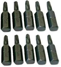 """Irwin 95032HH 1"""" T15 Torx Insert Bits 10 Pack - $2.23"""