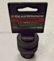 "GearWrench 84831 3/4"" Drive 6 Point Standard Impact Metric Socket 20mm - $6.44"
