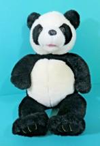 "Build A Bear Panda Black Corduroy Paws 18"" Plush Zoo Stuffed Animal Vint... - $39.95"