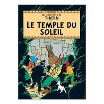 Prisoners of the sun Tintin Poster