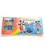 Disney Characters 12 Post Cards Plus Collector Set Book - $29.65