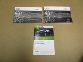 2016 Chevrolet Impala Owners Manual User Guide Reference Operator Book Fuses - $27.49