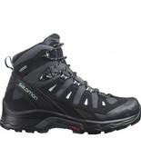 Salomon Quest Prime GTX Womens Wide Black Grey Trail Hiking Boots Shoes ... - $212.99